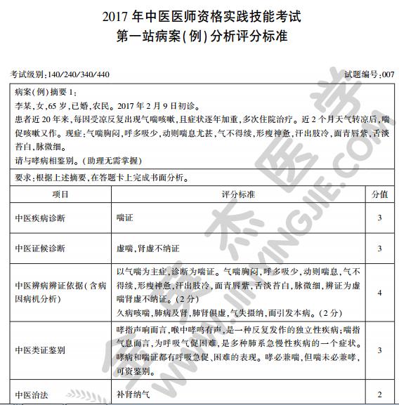 中医执业医师考官手册图片